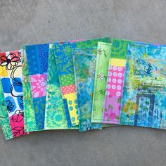 Pretty postcards by Wendy for #diypostcardswap @ihannas #mail #collage