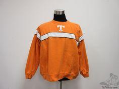 Starter Tennessee Vols Volunteers Crewneck Sweatshirt sz 2XL SEWN University #Starter #TennesseeVolunteers #tcpkickz