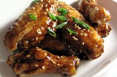 Honey and Garlic Chicken Wings pair perfectly with Cabernet Sauvignon!