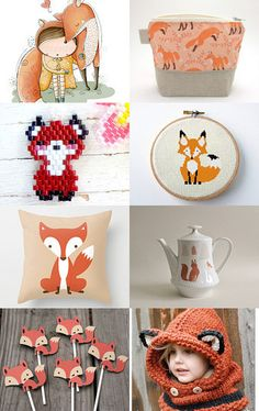 #Treasury #Fox #Abeillia #Fichate #Etsy #Treasurys #Foxy