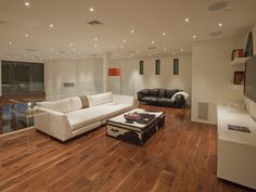 upper living area of Typically Luxurious Residence of Beverly Hills