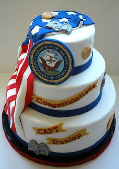 us navy cake designs | Navy Retirement |
