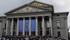 The Bayerische Staatsoper (Bavarian State Opera), perhaps my favorite