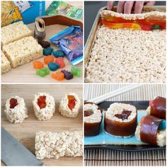 Kids candy sushi snacks!