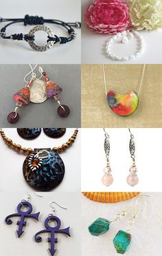 July Jewelry Collection by MrOzNaps on Etsy--Pinned with TreasuryPin.com
