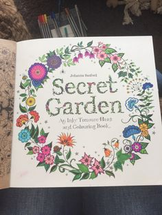 I have recently started colouring the books by Johanna Basford, this is my first page of the secret garden book, but I have also written about my colouring, feel free to take a look from the following link: https://sites.google.com/site/rebeccablogging95/home