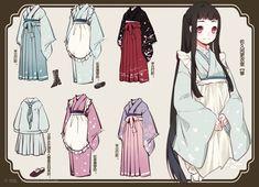 Female Clothes 服装来不及画更多了感觉还不够过-怪胎。