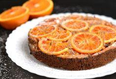 Ореховый торт с апельсинами