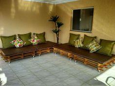 Almofadas  para sofá de palet,