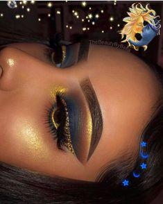 Gorgeous Makeup: Tips and Tricks With Eye Makeup and Eyeshadow – Makeup Design Ideas Makeup Eye Looks, Cute Makeup, Gorgeous Makeup, Pretty Makeup, Flawless Makeup, Skin Makeup, Eyeshadow Makeup, Eyeshadows, Gold Eyeshadow Looks