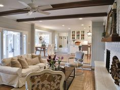 An Extension of the Kitchen - Creating French Country in the Texas Suburbs on HGTV