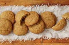 Pumpkin Pie Cookies by Bakers Royale  What to do with leftover pie filling!