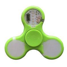 2017 New LED Light Fidget Spinner Finger Smart EDC Hand Spinner Toys For Children Audlt ADHD Relief Focus Anxiety Stress Toys