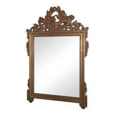 Gold Gilt Mirror in the Manner of La Barge - Image 1 of 7