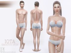 Sims 4 CC's - The Best: Skin by SM Sims