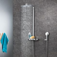 Grohe Rainshower System SmartControl 360 DUO Duschsystem mit Thermostatbatterie