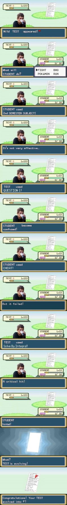 A real pokemon battle..