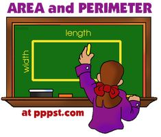 Area and Perimeter - Geometry - FREE Presentations in PowerPoint format, Free Interactives and Games
