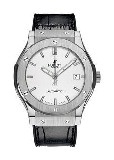 Classic Fusion Titanium Opalin Automatic watch from Hublot