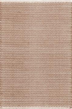 Dash & Albert | Herringbone Stone Woven Cotton Rug | You asked, and we listened! Another terrific Dash & Albert lightweight woven cotton area rug, this time in a classic herringbone pattern.