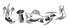 "Tove Jansson - Illustrations for ""Alice in Wonderland"" 45"
