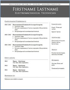 Functional Resume Samples for High School Student Working At Home ...