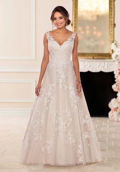 Stella York 6649 A-Line Wedding Dress Beautiful Wedding Gowns fa16971613af