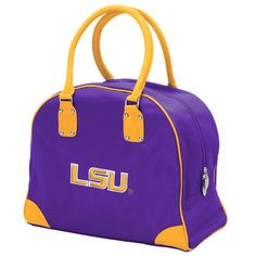 LSU Tigers Womens Large Travel Overnighter Bag