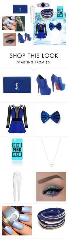 """""""Let's keep it BLUE"""" by mrsemilystyles4everandever on Polyvore featuring Yves Saint Laurent, PrimaDonna, Posh Girl, Tiffany & Co., Isabel Marant and BERRICLE"""