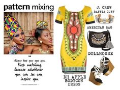 """""""Global Inspiration - Africa"""" by latoyacl ❤ liked on Polyvore"""