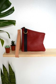 Franny Pouch in Red