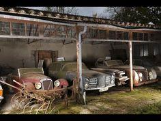 Maserati, Bugatti, Old Vintage Cars, Old Cars, Antique Cars, Abandoned Cars, Abandoned Places, Abandoned Property, Abandoned Homes