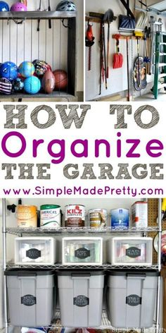 If you are tired of your garage being cluttered or unusable, follow these tips…