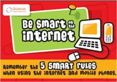 Be SMART on the internet - Childnet  download free pdf and poster