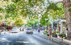 Kifissia, Athens, Greece Visit Turkey, Athens Greece, Ancient Greece, Grape Vines, Greek, Street View, 50 Shades, City, Places