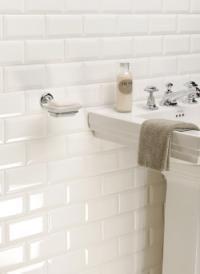 Metro tiles for the bathroom - mosaikhjørnet.dk