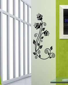 Classic floral style wall decals are the best way to transform all corners of your house, very easily!    Find more such creative and unique designs on www.gloob.in    Visit is on www.facebook.com/iamgloob to enjoy discounts and freebies!
