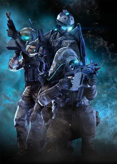 Illustration from Ghost Recon Online.