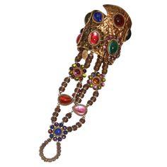 Chistian Lacroix Haute-Couture Cuff Bracelet 1990S | 1stdibs.com