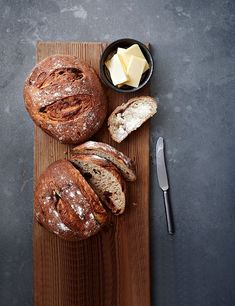 Rye Bread Recipe With Dates  If you love making you own bread, this recipe is for you! The dark rye flour and sweet dates are a perfect pairing and this dark loaf goes brilliantly with cheese.