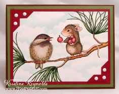 friends by stampwithkristine - Cards and Paper Crafts at Splitcoaststampers