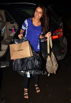Shraddha Kapoor out shopping in Mumbai. via Voompla.com