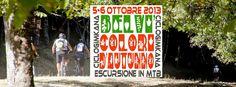 COLORI D'AUTUNNO – ESCURSIONE IN MTB – BELVI – 5-6 OTTOBRE 2013