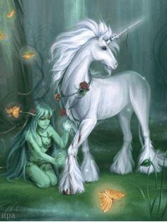 Fairytale...M with unicorn