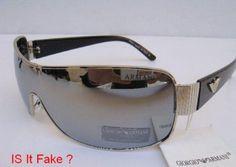 How to Spot Fake Armani Sun Glasses