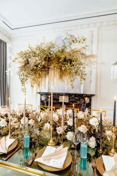 Modern Myth in 2020 (With images) Gold Wedding Decorations, Reception Decorations, Table Decorations, Reception Ideas, Event Planning Design, Event Design, Wedding News, Wedding Styles, Flower Factory