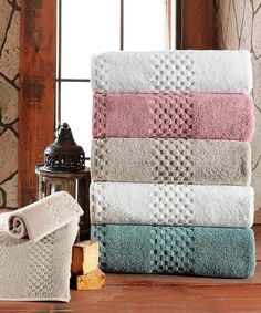 Fairfield Luxury Three-Piece Towel Set
