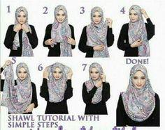 Easy hijab tutorial