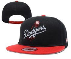 Casquette MLB Los Angeles Dodgers Snapback Noir Rouge Casquette New Era Pas  Cher aee584350181