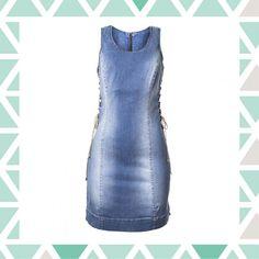 Vestido jeans | Maria Valentina Jeans | Feira Shop